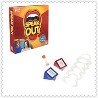 Wholesale Speak Out Game Toys The Ridiculous Mouthpiece Challenge KTV Game Board Interesting Party Game For Christmas