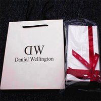 Wholesale Luxury Brand Daniel Wellington Watch Box DW Watch Original Retial Boxes With Instructions Manual And Tag Watch Cases Package