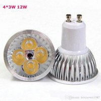 Wholesale High Power Led Lights Bulbs GU10 MR16 E27 Led Spot Lights W W W Dimmable Non dimmable Led Lights For Bedroom Cree Warm Pure Cold White