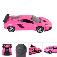 Wholesale 1 High Quality Model Car LB Pull Back Alloy Light Musical Sports Car For Kid Toy Cars Best Gift