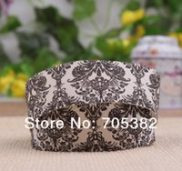 Wholesale 25mm Vintage flower design cotton Gift ribbon DIY Sewing printing sewing tape ribbons ss