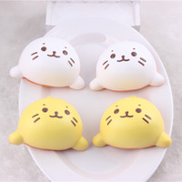 Universal Lanyard Lovely 20PCS-8cm kawaii Squishy cat face bread slow rising phone Pendant Girl Gift wholesale Free kawaii squishy cell phone charms