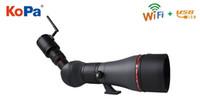 KOPA Télescope à haute réfraction Visionnement professionnel HD Wifi Télescope App / PC / IOS Observer les étoiles