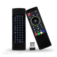 Wholesale 3 In1 GHZ USB Remote Control Airmouse Keyboard Andriod Windows TV Box DHL