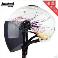 Wholesale Brand lengthen lenses tank helmet four seasons motorcycle helmet anti uv t506