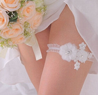 beach table settings - 2016 Wedding Decorations Bride Beautiful Leg Socks Wedding Supplies Little Flower Garter Woman Sexy Decoration Beach Wedding Accessories