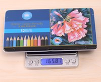 Wholesale 12 Colors Adult Coloring Books Water Color Pencils For Secret Garden An Inky Treasure Hunt Relieve Stress Kill Time Pencil