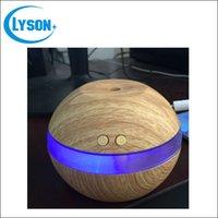 aroma wood - New Design Mini Essential Oil Wood Grain Oil Diffuser Aromatherapy Office Home SPA Wood Grain USB Aroma Humidifier