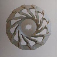 Wholesale 7 Inch Fan Shape Diamond Concrete Grinding Cup Wheels