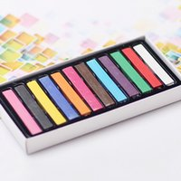 Wholesale Hair color pen One time hair dye color suits to choose temporary hair color chalk dyed hair