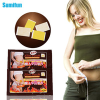 Wholesale 10pcs bag Slimming Cream Navel Stick Slim Patch Weight Loss Burning Fat Patch Health Care Efficacy Strong