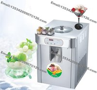 Wholesale L R22 R404 Countertop Commercial Stainless Steel v Hz v Hz Electric Hard Ice Cream Machine Maker