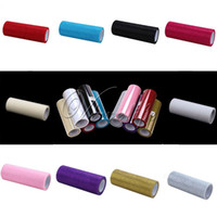 Wholesale One Rolls quot x10yd Multicolors Glitter Shimmering Tulle Roll for Wedding Gift Bow Carft Tutu Shirt Wedding Decoration Product Top quality