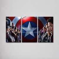 abstract painting images - Modern Wall Decoration Paintings of Movie Captain America Civil War Modular Pictures Canvas Art Wall Prints Images for