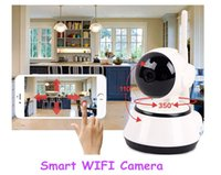 Wholesale Smart WIFI CCTV Surveillance Cameras KKMOON HD MP IP Camera Pan Tilt IR Cut WiFi Wireless Network Security IP Webcam Vigilancia S381