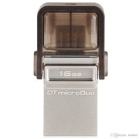 Wholesale Original OTG Micro USB Flash Drive MicroDuo GB USB Stick for Mobile Phone Tablet Laptops in Pen Drives gb