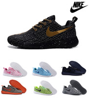 Cheap free shipping nike roshe run yeezy boost 350 mens and womens running shoes, cheap nike roshe runs flyknit running shoes best sale