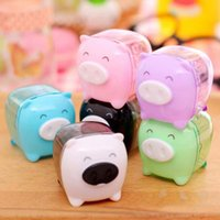 award package - Cartoon Pig Pencil Sharpener Creative Stationery Stuff Office For Students Awards Desktop Gadgets
