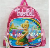 Wholesale by DHL UPS High Quality Tinker Bell Children s School Bag Rucksack Cartoon School Backpack G2313