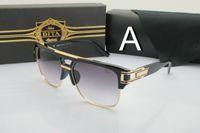 acrylic oval - Dita sunglasses women men oversized Square mens sun glasses brand designer oculos de sol feminino lunettes de soleil homme