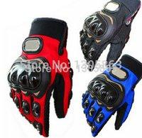 Livraison gratuite! 3 couleurs Gants de moto racing gants de motocross dirt bike gants doigt complet Equipement de protection TAILLE: M / L / XL / XXL