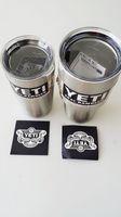 Wholesale NEW Bilayer Stainless Steel Insulation Cup OZ OZ YETI Cups Cars Beer Mug Large Capacity Mug Tumblerful
