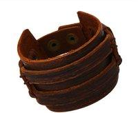 avant garde steel - LS031 Avant garde fashion personality wild retro leather bracelets leather bracelet