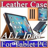 air h - iPad Pro Tan Leather Wallet Stand Flip Case Smart Cover for iPad Air Air Air2 Air3 Mini Mini2 Mini3 Mini4 H PT