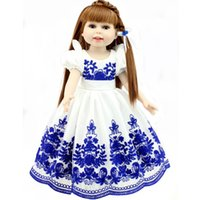 beautiful bebe - New Arrival Chinese Style Girl Dolls Full Silicone Reborn Dolls with Beautiful Dress Adora Dolls Bebe Reborn de Silicone Menica