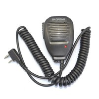 b c speakers - Brand BaoFeng Speaker Mic headset for Walkie Talkie BF888S UV R UV RA B C D E