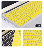 Wholesale Colorful Laptop Keyboard Protective Skin Soft Silicone USA Keyboard Protector for Macbook Air Pro quot quot quot Notebook Clear Cover DC0017