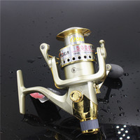 Wholesale Fishing Reels Series All Metal Rocker Arm Seamless Back Brake Spinning Reel Ocean Rod BB