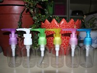 plastic shampoo bottles - DHL ml Plastic Transparent Refillable bottle duckbill bottles bottling lotion bottle Perfume Bottle Cosmetic Lotion Shampoo