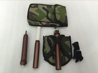 Wholesale Shovel folding shovel outdoor Multifunction shovel military vehicle self defense
