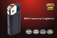 Wholesale Full HD P spy lighter camera with flashlight mini lighter camera U Disk spy hidden pinhole camera real lighter mini DVR black V18