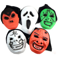 Wholesale Halloween Cosplay Masquerade Mask Skull Skeleton Mask Scary Ghost Masks cm inch Full Face Product Code
