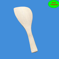 Wholesale Natural Bamboo Spoon Rice Paddle ECO Friendly Bamboo Spoon for mixing rice when making sushi SPW1610E