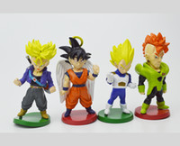 ball carton - Janpan cartons DRAGON BALL doll figurines doll PVC material Hot Movie min with cm collection toys
