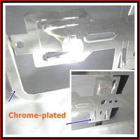 Wholesale 1 pair European size car license frame Chrome Car license plate RoHS pro environment ABS FFF FREESHIPPING