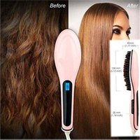 best straightening irons - Best peice Beautiful Star NASV Hair Straightener Straight Hair Styling Straightening Irons Digital Temperature Controller dhl
