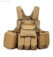 Wholesale multifunction outdoor molle army police military tactical vest