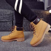 b m trading - Men s autumn and winter boots Martin boots tooling shoes British Lunga velvet high top boots foreign trade large size men slip