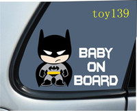 batman truck - Baby Batman quot BABY ON BOARD quot Car Truck Laptop Boat wall Decal Vinyl Sticker decal reflective silver