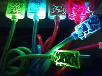 beautiful usb - New colorful Beautiful M LED Light Durable Micro USB Cable Charger Data Sync Cord For Samsung Galaxy S3 S4 S5 HTC Android phone