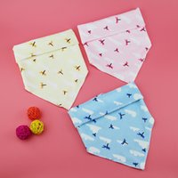 baby bandage - bibs for babies triangle Velvet buckles triangular bandage Baby Feeding
