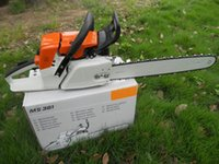 gas cylinder - 24 quot bar MS381chain saw machine cc chain saw factory sold
