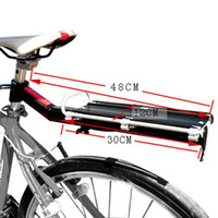 Wholesale Aluminum Alloy Mountain MTB Bike Bicycle Rack Rear Carrier Seat Post Shelf Quick Removal and Installation Max Load kg H13826