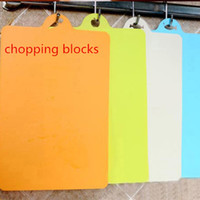 Wholesale 2016 New design kitchen dining chopping blocks fruit cutting board creative convenience colourfull
