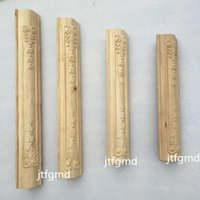 Wholesale Dongyang wood furniture fittings decals side column leg foot