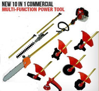 brush cutter - 52cc brush cutter chain saw hedge trimmer in with X1M extension pole